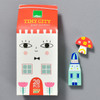 Tiny City by Suzy Ultman, front with pieces