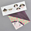 Pretty Faces Origami, contents
