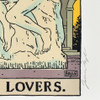 """The Lovers: Auguste Rodin's The Kiss Philly Tarot Deck Print 8"""" x 10"""" by James Boyle, signature on print"""