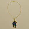 Beetle Wings Necklace, full necklace