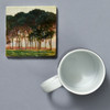 Monet Under The Pines, Evening Tile by The Painted Lily, with mug