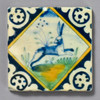 Dutch Hare in Diamond Tile by The Painted Lily