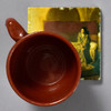 Tanner Annunciation Tile by The Painted Lily, with mug