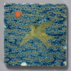 Chinese Rank Badge Crane Tile by The Painted Lily