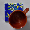 17th Century Middle Eastern Tile by The Painted Lily, with mug