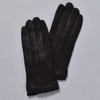 Wrist Ruffle Gloves Black