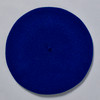 Navy Classic French Beret; overhead view