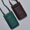 Fudge Cross Body Purse; shown with green color options