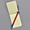 Penco Prime Timber Mechanical Pencil, red, with memo pad (sold separately)
