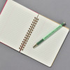 Penco Prime Timber Mechanical Pencil, mint, with Penco Composition Notebook (sold separately)