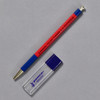 Penco Prime Timber Mechanical Pencils, red, with sharpener