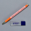 Penco Prime Timber Mechanical Pencils, pink, with sharpener