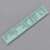 Penco Standard of Accuracy Wooden Ruler, mint, back