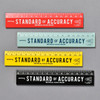 Penco Standard of Accuracy Wooden Ruler in four colors, red, mint, yellow, black