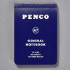 Penco General Notebook A7, blue, front of book