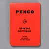 Penco General Notebook A7, red