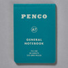 Penco General Notebook A7, green front of book