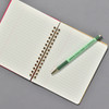 Penco Composition Notebook Red, open with Penco Prime Timber pencil (sold separately)