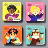 Little Feminist Board Book Set, 4 books