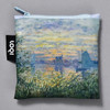 Monet Marine View with a Sunset Folding Tote tote in pouch