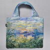 Monet Marine View with a Sunset Folding Tote back of tote