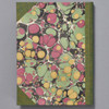 Marbled Cover Sketchbook by Bookgrrl Bindery; back cover image