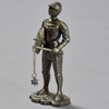 Knight in Armor with Rondache and Spiked Flail Reproduction