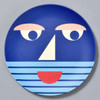 Bamboo Face Plate blue
