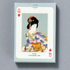 Japanese Prints Playing Cards, back of box