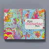 Mini Magnetic Coloring Book, front