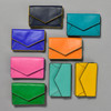 Leather Envelope Wallet, in 8 colors