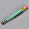 Traveler's Company BRASS Limited Edition Factory Green Pencil, closed