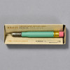 Traveler's Company BRASS Limited Edition Factory Green Pencil, in packaging
