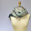 Anew Pinks Merino Wool Scarf, on mannequin