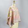 One Of A Kind Pastel Multi Shibori Blouse, on mannequin