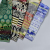 Organic French Jacquard Scarves in four styles