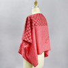 One Of A Kind Red Shibori Blouse
