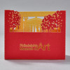 Back of Philadelphia Museum of Art Pop Up Card