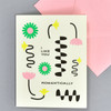 I Like You Romantically Notecard, front, with envelope