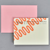 Love You Forever and Ever and Ever Notecard, back, with envelope