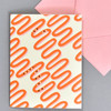 Love You Forever and Ever and Ever Notecard, front, with envelope