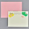 You Are Somethin' Special Notecard, back, with envelope