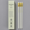 Blackwing Pearl Balanced Graphite Pencils - Pearl White, box and pencils