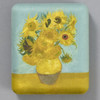 van Gogh: Sunflowers Travel Case, front of case