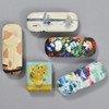 Eyeglass cases and travel case, in different styles