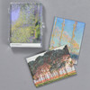 Monet Trees Magnet Set, case with magnets