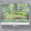 Monet Land and Seascapes Magnet Set, clear case with magnets inside