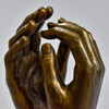 """Rodin Cathedral 7"""" Reproduction, close up"""