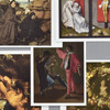 Dutch Flemish Netherlandish Museum Postcard Set, close up