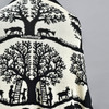 Folksong Cotton Cocoon Wrap, detail, back